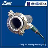"""Od-Mounted Portable Electric Split Frame Pipe Cutter and Beveler Machine for 4""""-8"""" (114.3mm-219.1mm)"""