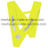 Ce En1150 Standard V Model Children Safety Wear Reflective Vest