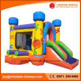 Commercial Rental Inflatable Bouncer Jumping Castle Combo with Slide (T3-018)