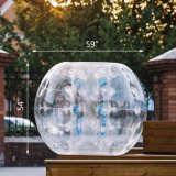 Kids and Adults Inflatable Body Zorb 1.5m/4.92FT PVC Bumper Football Bubble