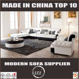 Modern Functional Leather Divan Sofa Set for Home Use