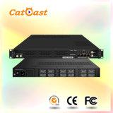 24 CVBS to 16* DVB-C/8*DVB-T Digital RF Encoder Modulator