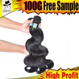 100%Human Virgin Hair, 100%Brazilian Hair Extension