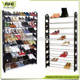 Shoe Rack Simple Designs Removable Folding Wholesale 10 Tiers Standard Size Shoe Rack
