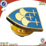 Min Initation Gold Plated Badge, Lapal Pin (BG4010P)