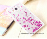 China Wholesale New Product Hard PC Liquid Star Sand Phone Case for Samsung A3/A5/A7 Quicksand Mobile Phone Cover Case