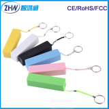 2014 Attractive Lipstic 2600mAh Keyring Power Bank (ZHW-033)