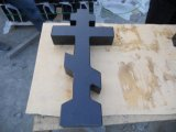 China Black Granite Stone Cross Monuments/ Headstone for Cemetery