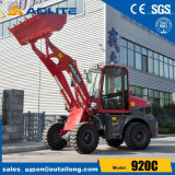 Small Size Four Wheel Loader with Quick Hitch