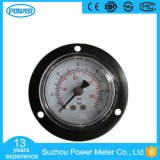 40mm PC Glass Black Steel Case with Flange Manometer