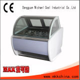 Stainless Steel 1/4 Gn Pan Ice Cream Display Freezer Tk-6