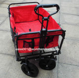 Factory Outlet Collapsible Garden Cart Folding Utility Wagon Shopping Yard Beach