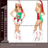 Hot Sale Sexy Adult Christmas Holiday Party Santa Costume (1041)