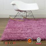 Shag Rug Living Room & Bedroom Solid Purple 5*8 Area Rug Shaggy Carpet