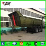 3 Axle 60 Ton Hydraulic End Dump Trailers for Sale