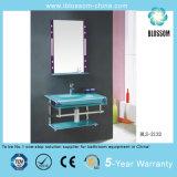 Bathroom Glass Countertop Vanities (BLS-2132)