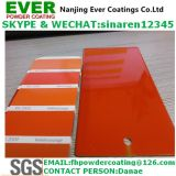 Smooth Glossy Pure Orange Color Ral2004 Powder Coating