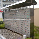 Classic Stainless Steel Mailbox (HS-MB-019)