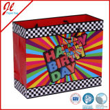 Birthday Luxury Elegant Carrier Paper Bags Color Bag for Party