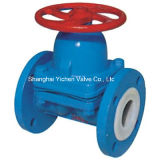 ANSI Weir Type Diaphragm Valve for Chemical