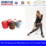 Covered Yarn with Polyester for Hosiery by Qingdao Bornyarn
