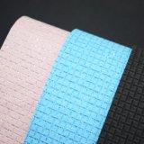 Glitter Textured Pattern PU Leather, Basket Weave Pattern Bag Leather