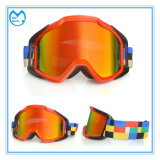 Customized Oversized Tear off Motorcycle Goggles Over Helmet