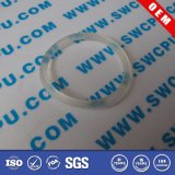 Food Grade Transparent Silicone Rubber Washer (SWCPU-R-OR043)
