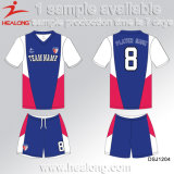 Healong China Deisgn Sports Gear Sublimation Ladies Club Football Sets for Sale