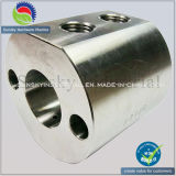 High Precision CNC Machining Milled Steel Part with Natural Anodized (MI14011)