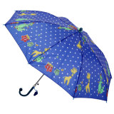 Auto Open Printing Kid Umbrella (JS-036)