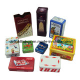 Metal Game Tin Box for Game&Play Cards