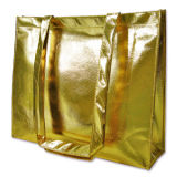 New Design Golden Laser Coated Non Woven Bag