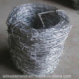 Galvanized Barbed Wire (factory ISO9001)