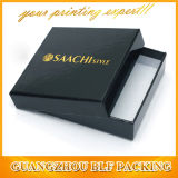 Cardboard Gold Logo Glossy Laminated Black Box