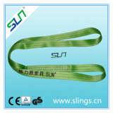 100% Polyester Synthetic Endless Webbing Sling with 2tx1m Safety Factor 5: 1