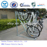 Semi-Vertical Bike Parking Rack (PV-SV-01)