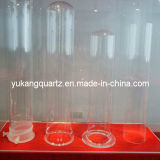 Transparent Fused Quartz Tubes with High Quality for Heating