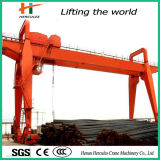 High Quality Low Cost Double Beam Gantry Crane for Outdoor Steel Warehouse Use