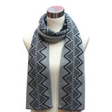 100% Acrylic Lady Knitted Fashion Scarf (YKY4331)