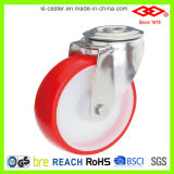 Stainless Steel Polyurethane Castors with Nylon Center (G104-26D080X30)