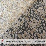 Floral Sparkle Indian Lace Fabric (M5124-J)