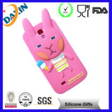 Colorful Silicone Rubber Animal Silicone Phone Case