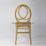 Over 500kgs Load Golden PC Resin Phoenix Chiavari Chairs Wholesale