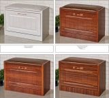 European Style Shoes Cabinet with Sofa Seat