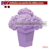 Party Items Lilac Fluffy Flower Centerpiece Party Products (W1014)