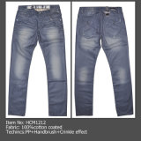 Coated Jeans, Fashion Men Jeans, Denim Jeans (HCM1212)