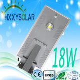 Solar Integrated LED Street Light 18W