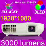 Mini Full HD Projector, Multimedia LED Projector