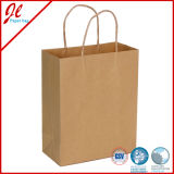 Factory Direct Shopping Bags Brown Kraft Paper Bags Shopping Paper Bags Twisted
